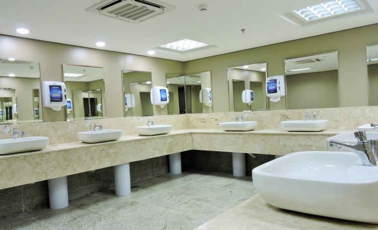Por que o banheiro de sua empresa é tão importante?