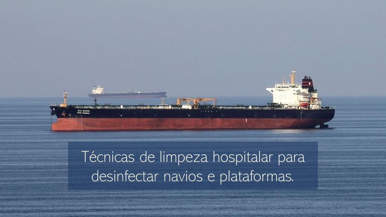 Processos de higienização hospitalar aplicados ao segmento de Petróleo